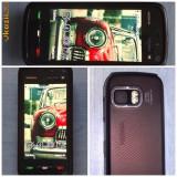 Nokia 5800 xpressmusic super ieftin - Telefon Nokia, Negru, Neblocat, Touchscreen, Symbian OS, 360x640 pixeli