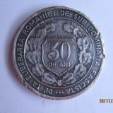 Ordin/ Decoratie - MEDALIA 30 ANI DE LA ELIBERAREA ROMANIEI DE SUB DOMINATIA FASCISTA
