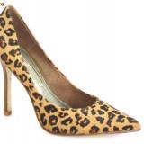 Pantofi dama Buffalo, Piele naturala - Superbi pantofi pentru femei, Pantofi Buffalo, aspect tigru, piele ponei, (6866-301 TIGRE) - REDUCERE EXCEPTIONALA DE PRET