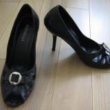 Pantofi dama, Marime: 35.5, Fuchsia - Pantofi decupati nr 36