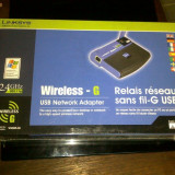 Router - LINKSYS WUSB54G Wireless NETWORK USB Adapter