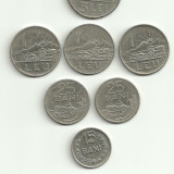 Moneda 1 leu 1966 25 bani 1966 RSR - Moneda Romania