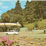 Carti Postale Romania dupa 1918 - CP208-36 Sangeorz-Bai -Izvorul nr.7 -carte postala circulata 1975 -starea care se vede