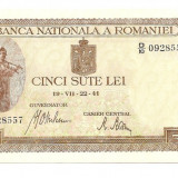 LL bancnota Romania 500 lei 1941 UNC