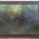 Tablou Daday Gero, scoala de Baia Mare. Garantat autentic. - Pictor roman
