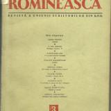 Revista VIATA ROMANEASCA - 1954 - Carte de aventura
