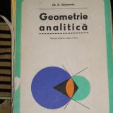 CC4 - GEOMETRIE ANALITICA - CLASA A 11 - A - EDITIE 1979 - Manual scolar, Matematica