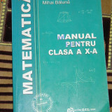 CC4 - MATEMATICA - CLASA A X - A - Manual scolar