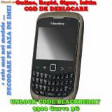 DECODARE BLACKBERRY 9300 Curve 3G ONLINE, PE IMEI *** RAPID SI IEFTIN *** Trimit codul pe mail, Y, Skype etc. *** PRET PROMOTIONAL *** - Decodare telefon, Garantie