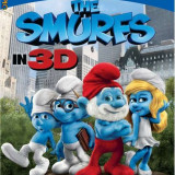 Film animatie - The Smurfs, 3D, blu ray 2 disc edition