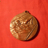 Medalii Romania - Medalie cu Toarta - INOT - Interbelica