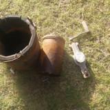 Metal/Fonta - Antik-VECHE Masina de inghetata