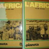 Catalog: Africa - il pianeta - limba Italiana - 2 volume MARI - Carte de aventura