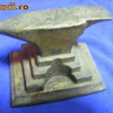Metal/Fonta - NICOVALA ALAMA/BRONZ, veche, DE COLECTIE