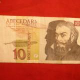 Bancnota Straine - Bancnota 10 Tolari 1992 SLOVENIA, cal.medie