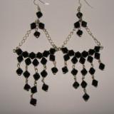 Cercei Fashion - Cercei negri