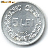 Monede Romania - 5 LEI 1950 STARE APROAPE NECIRCULATA
