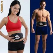 """Centura cu impulsuri electrice """" ABS & CORE"""" pentru brate,abdomen,coapse foto"""