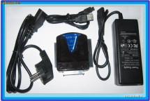 sATA IDE ADAPTOR RACK EXTERN USB HDD DVD-RW LAPTOP 4 INTERFETE foto