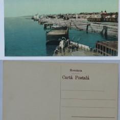 Galati , Cheiul Dunarei , inceput de secol 20