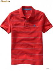 GAP - tricou barbati rosu M 100% original!Comenzi GAP.com, Maneca scurta, Bumbac