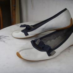 Balerini dama Zara, Marime: 37 - Balerini, pantofi ZARA TRF piele 37