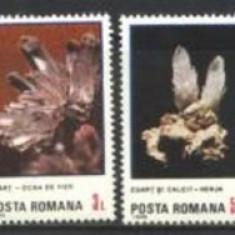 Romania 1985 - FLORI DE MINA, serie nestampilata C126 - Timbre Romania, Natura