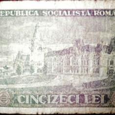 Bancnota cincizeci 50 lei din 1966, A I Cuza