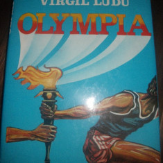 Olympia, de Tudor George si Virgil Ludu - Carte Hobby Sport