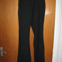 Pantaloni de stofa - Pantaloni dama, Lungi, Fuchsia
