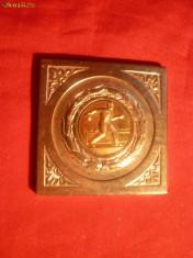 Medalii Romania - PLACHETA CAMPIONAT DE POPICE - Regiunea Stalin