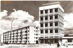 Carti Postale Romania dupa 1918 - CP207-21 Orasul Gheorghe Gheorghiu-Dej -Oficiul PTTR -RPR -carte postala circulata 1966 -starea care se vede