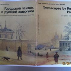 ALBUM CU 16 PICTURI ILUSTRATE DE LA MUZEUL RUSESC DE ARTA DIN LENINGRAD