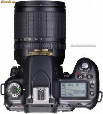 DSLR Nikon - NIKON D200 CU GRIP - 2 ACUMULATORI, DOUA OBIECTIVE, CARD, GEANTA