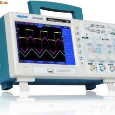 Vand Osciloscop ieftin 2x100 MHz 1GS/s Hantek DSO5102B NOU! sigilat la cutie