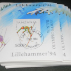 COLITA SPORT LILLEHAMMER 1994 - Timbre straine
