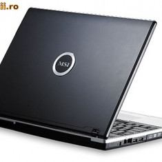 Laptop VR601 iefin - Laptop MSI, Intel Celeron, 1501- 2000Mhz, 15.4 inch, 2 GB, 120 GB