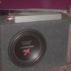 AMPLIF BLAUPUNKT GTA4 SPECIAL MK2 800 WATTS + SUBWOOFER MAC AUDIO SX 12 INCH 1000 WATTS - Subwoofer auto