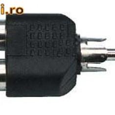 Adaptor RCA la 2 RCA mama