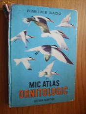 Carte Geografie - MIC ATLAS ORNITOLOGIC * Pasarile Lumii - Dimitrie Radu - 1983, 311 p.+ 40 planse