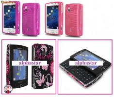 Husa ROZ Sony Ericsson XPERIA MINI PRO - Back Cover, Mesh