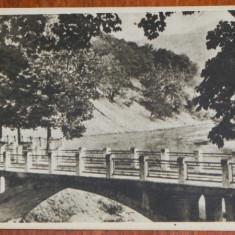 Carti Postale Romania dupa 1918 - Carte postala rpr Libraria Noastra judetul Valcea - CACIULATA -CALIMANESTI- PODUL PESTE OLT, NECIRCULATA