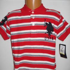 Tricou US Polo Assn baieti 5-6 ani
