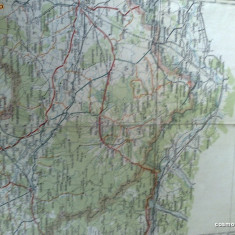 Harta Turing Clubul Roman - interbelica - nr 5 - Satu Mare