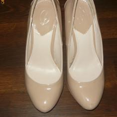 PANTOFI STRADIVARIUS - Pantof dama Timberland, Marime: 36.5, Crem