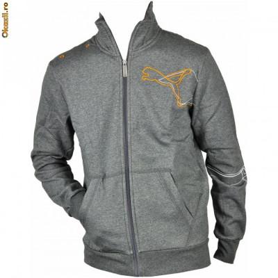 Hanorac barbati Puma Graphic Sweat JKT Fleece 81395107-5650 Marime XL foto