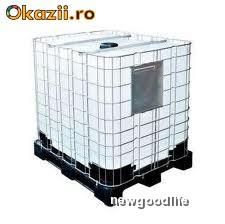 Bazine / Bazin / Rezervor / Rezervoare 1000 LITRI ! 1 TONA ! Cu Grilaj Metalic si Suport Sustinere ! foto