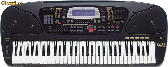 Orga (sintetizator) General music GEM WK1 arranger Keyboard foto mare