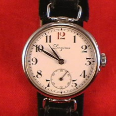 LONGINES ANII 1910 CADRAN EMAIL /extrem de RAR - Ceas barbatesc