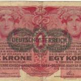 Bnk bn austria 1 coroana 1916 vf